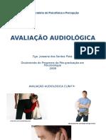 Aula Audiometria