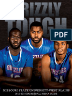 2015-2016 Grizzly Basketball Media Guide