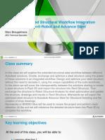 Presentation_9918_OG9918-Extended Structural Workflow Integration Between Plant-Revit-Robot and Advance Steel_presentation
