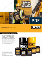 JCB Equivalent Lubricant Recomondation