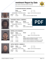 Peoria County Jail booking sheet 05/09/2016