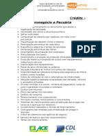 ANEXO I - Análise de Crédito Pjuridica