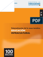 Educacion Intercultural. Bolivia