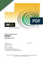 HFSS Filter