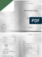 Strauss Leo - Derecho natural e Historia.pdf