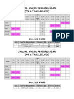 Edit Jadual Waktu _tampal 2015