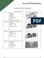 MeasurIT Flexim Fastening Parts 0910