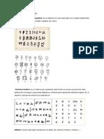 Tipos de Escritura