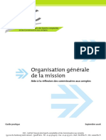 Organisation d'Une Mission d'Audit