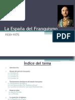 ESQUEMA. La España Del Franquismo.
