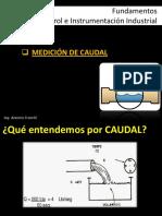 Guia de medicion de caudal