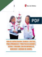 Guia de Capacitación Tecnica de Enseñanza y Practica Del Pasa en Baloncesto