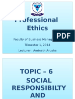 Topic 6_Social Responsibility and Organizations