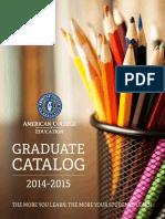 ACE Graduate Catalog Final (1!26!15)