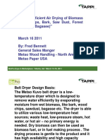 Energy Efficient Air Drying of Biomass