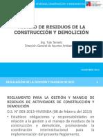 Residuos de La Construcción y Demolición