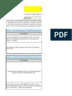 Dwelling Units - NEC Optional Method Calculation