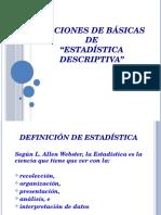 CLASE 2 - Estadística Descriptiva [7192]