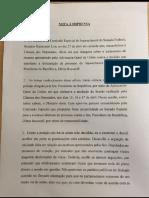 Nota à imprensa de Waldir Maranhão