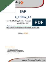 ExamsGrade C_THR12_67 Latest Exam Q&A