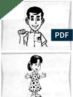 Pronoun Cards Sheet