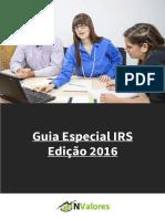 Guia Especial IRS 2016