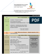 Argencolor 2016 Programa General