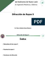 Difraccion de Rayos X