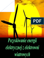 Pozyskiwanie Energii Elektrycznej z Elektrowni Wiatrowych