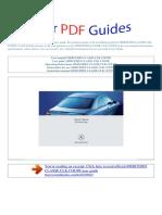 User Manual Mercedes Classe Clk Coupe e