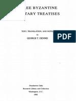 Dennis, George - Three Byzantine Military Treatises