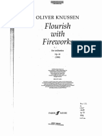 Knussen - Flourish With Fireworks for Orchestra