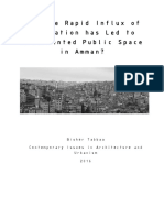 How the rapid influx of population has led to disoriented public space in amman.pdf