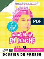Salon Du Livre de Poche - Saint Maur 2016- DP