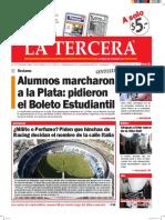 Diario La Tercera 09.05.2016