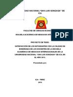 tesis chamaquito