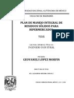 Tesis-López Morfin - Mexico