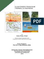 Makalah Pengelolaan Energi Geothermal + Environmental Issues - Pak Prof Edy Sutriyono DUPLEX