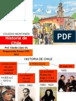 Historia de Chile 2013