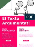 SEMANA 4. El Texto Argumentativo