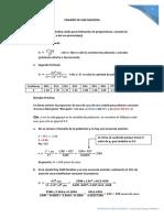Formulas y Explicaciones