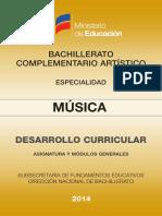 DC Musica Bach Art Complementario
