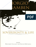Giorgio Agamben, Sovereignty and Life (Matthew Calarco and Steven DeCaroli)