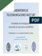 Laboratorio de Telecomunicaciones Facet Unt - Miranda