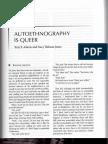 Adams & Holman Jones 2008 Autoethnography is Queer