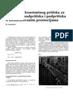 FRINKO - Edukacija 167 Regulatori Konstantnog Pritis u Klimatizovanim Prostor