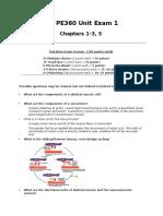 PE.210.Exam.01.Review Sheet.sp16