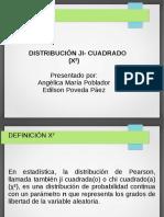 Presentación de Distribución Ji- Cuadrado