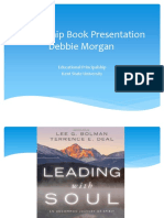 leadership book presentation educational principalship debbie morgan