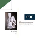 ILIADE di Omero - Libro quinto - Prove di traduzione interlineare con note grammaticali e vocabolario essenziale in linea